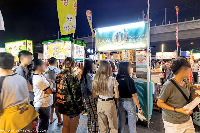 MG 3440 - 熱血採訪│台中夜市人氣綠豆沙牛奶,門市買不到來這排!還有冬季飲品新推出~