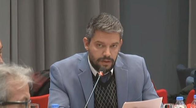 Χρήστος Καρούζος: Να αποτραπεί η διάπραξη του περιβαλλοντικού εγκλήματος στον Ερασίνο