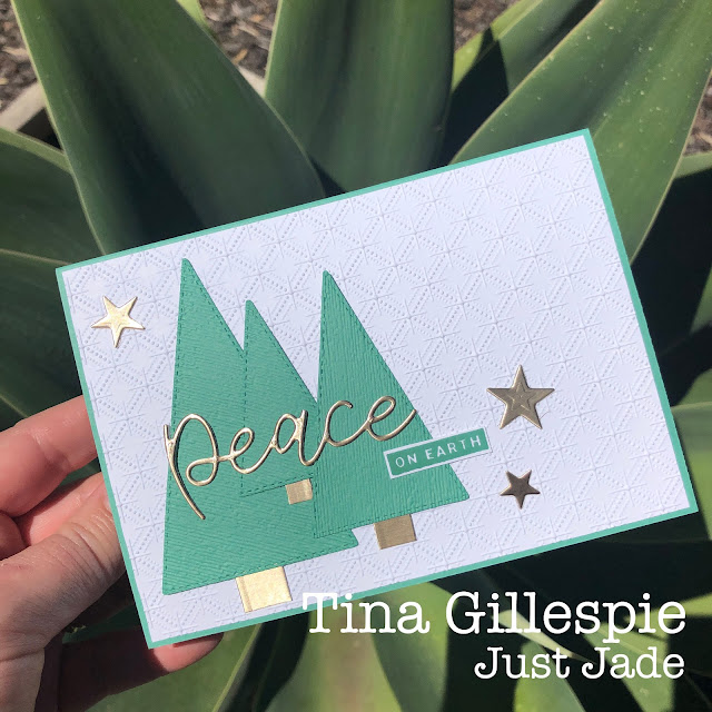 scissorspapercard, Stampin' Up!, Colour Creations, Stitched Triangles Dies, Peace & Joy Bundle, Stitched Stars Dies, Subtle 3DEF, Dainty Diamonds 3DEF, Itty Bitty Christmas