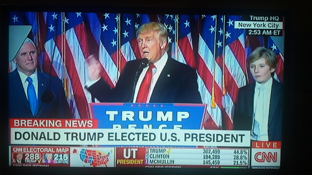 Breaking News: Trump Wins US Presidential Election