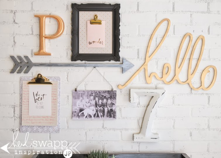 New Heidi Swapp Wall Gallery | @jamiepate for @heidiswapp