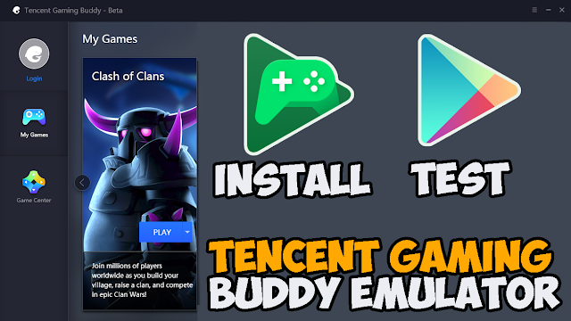 Cara Install Google Play Games Terbaru 2019 di Tencent Gaming Buddy Emulator