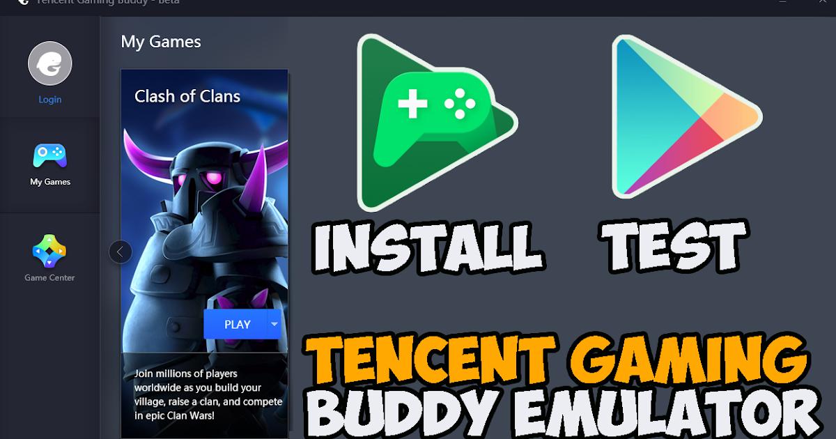 cara install google play games terbaru 2019 di tencent