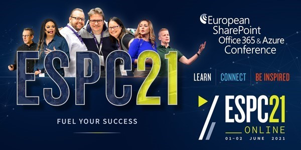 Speaking at ESPC21 - using Power Apps and AI for Incident Reporting