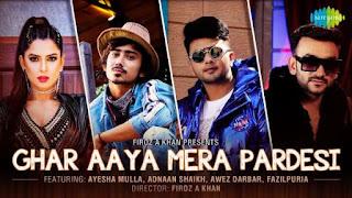 Ghar Aaya Mera Pardesi Lyrics Fazilpuria X Jyotica Tangri
