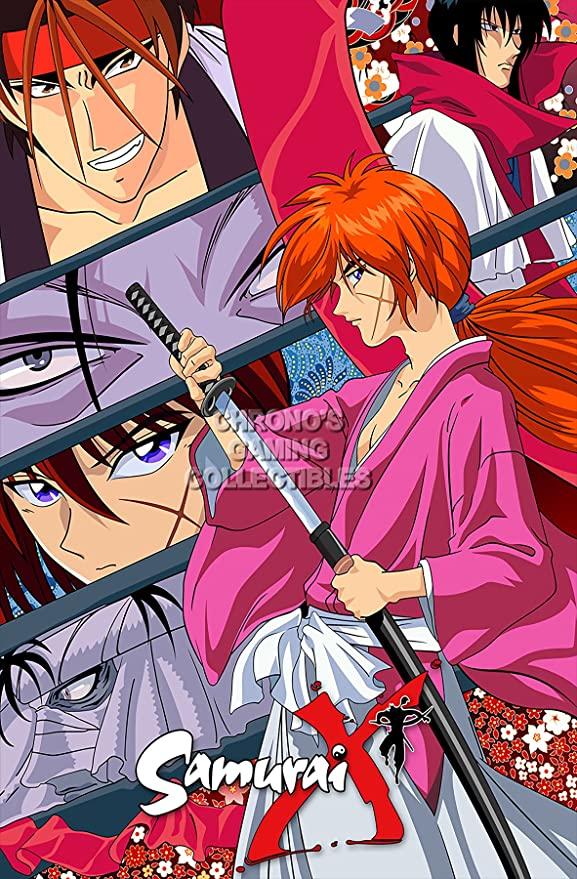 Samurai X Serie Completa, Ovas, Live Action DVDRip Dual Latino/Japones