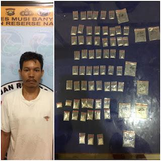 BD Narkoba di Desa Bailangu Dibekuk Polisi, 60 Paket Shabu Gagal Beredar