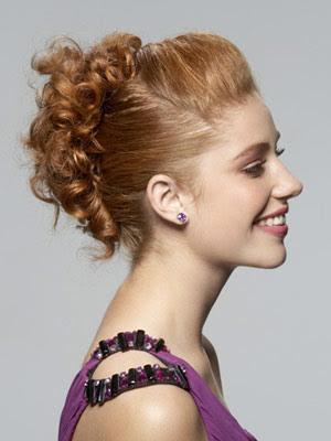 Peinados de moda recogidos 2017
