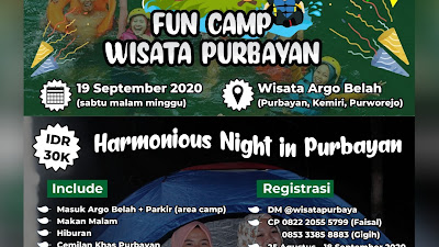 "FUN CAMP ""HARMONIOUS NIGHT IN PURBAYAN"""