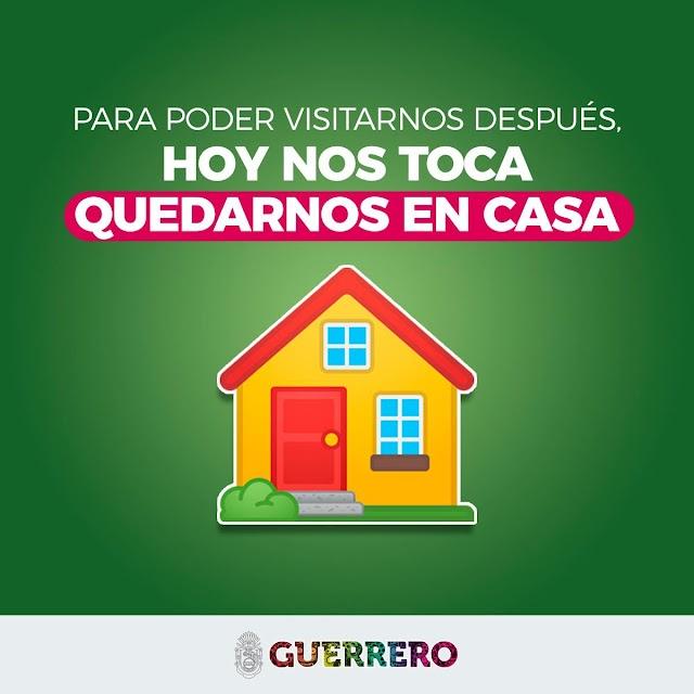 Hoy nos toca...campaña del gobierno de Guerrero, para poder visitarnos después