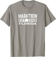 Marathon Florida Tee Shirt