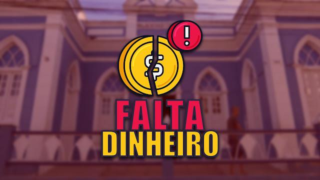 FALTA DINHEIRO PREFEITURA DE PANELAS-PE