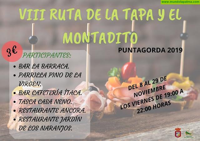 VIII Ruta de La Tapa y del Montadito en Puntagorda