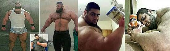 Hulk Iraniano Sajad Gharibi
