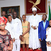 Gov. Oshiomhole, Edo State Governor-elect Obaseki & Their Wives Visits Crown Prince of Benin Kingdom