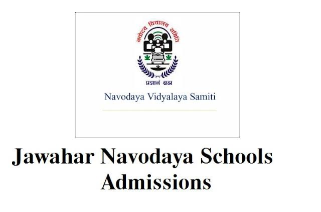 Navodaya school admissions