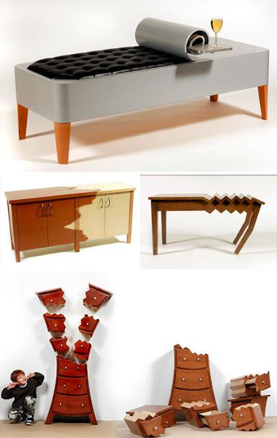 Diseño creativo de muebles