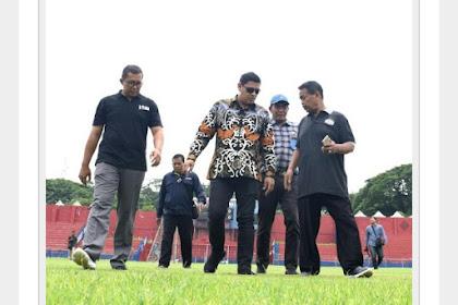 Persiapan Liga 1, Walikota Kediri, Tinjau Stadion Brawijaya Kota Kediri