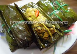 Aroma anyir dari daun kemangi dan bumbu rempah dari masakan pepes benar CARA MEMBUAT PEPES HATI AMPELA SUNDA