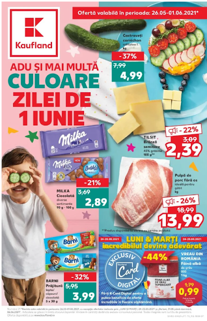 Kaufland Promotii + Catalog-Brosura 26.05- 01.06 2021