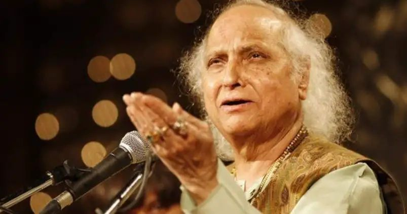 Indian classical Music legend vocal Pandit Jasraj