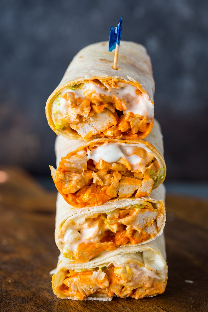 5 Minute Buffalo Chicken Wraps Recipes