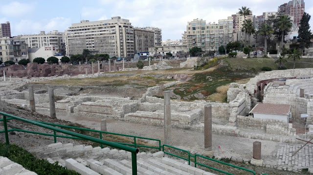 4th century imperial bath complex inaugurated in Egypt's Alexandria