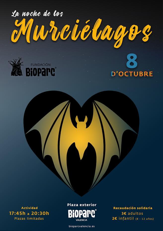 Noche de los Murciélagos Bioparc 2019