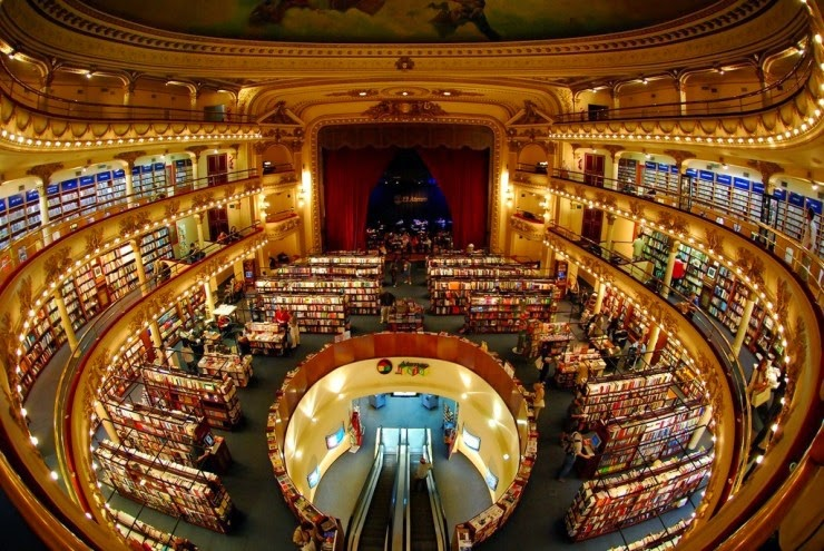 7. El Ateneo, Buenos Aires, Argentina - 31 Incredible Libraries and Bookstores Around the World