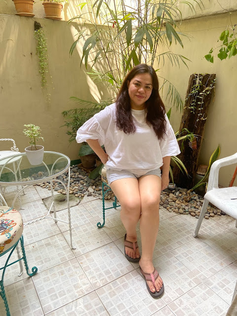 WFH OOTD: The Cool Colors of Light Blue and White