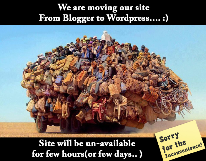 moving-from-blogger-to-wordpress-sorry-for-inconvenience We are moving our site from blogger platform to Wordpress - Site will be un-to be had Tutorial