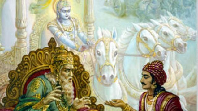 Dhritrashtra ke pita ka naam