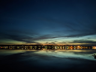 Twilight At Sydney Harbour, Cape Breton Island