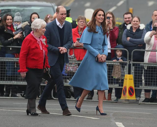 Wizyta Kate i Williama w Irlandii Północnej - Dzień II