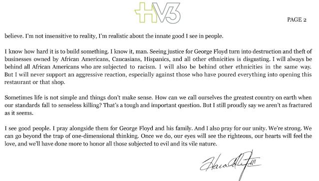 Harold Varner Letter 2
