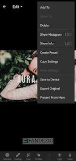 Cara Import Preset File DNG di Lightroom Android dan IOS