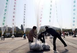South Korea balloons