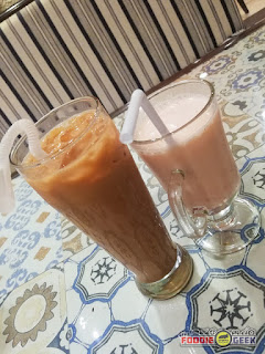 chilled chai tea, strawberry lassi, Zaika House of Kebabs and Shawarma, Marikina