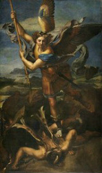 St. Michael Archangel Vanquishing Satan