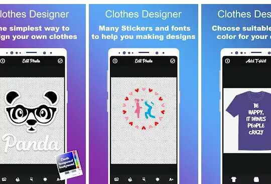 aplikasi T-Shirt Design Studio