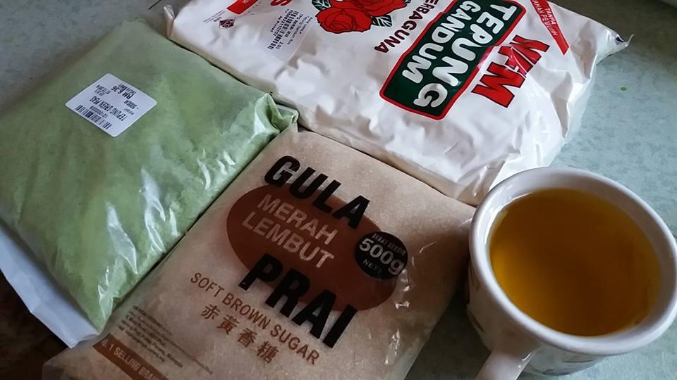 Resepi Biskut Kacang Hijau @ Green Peas Cookies Recipe