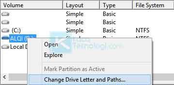 """Cara mengatasi error """"Application Not Found"""" pada Flashdisk / harddisk eksternal padahal kondisi flashdisk masih bagus di Windows 7/8/10."""