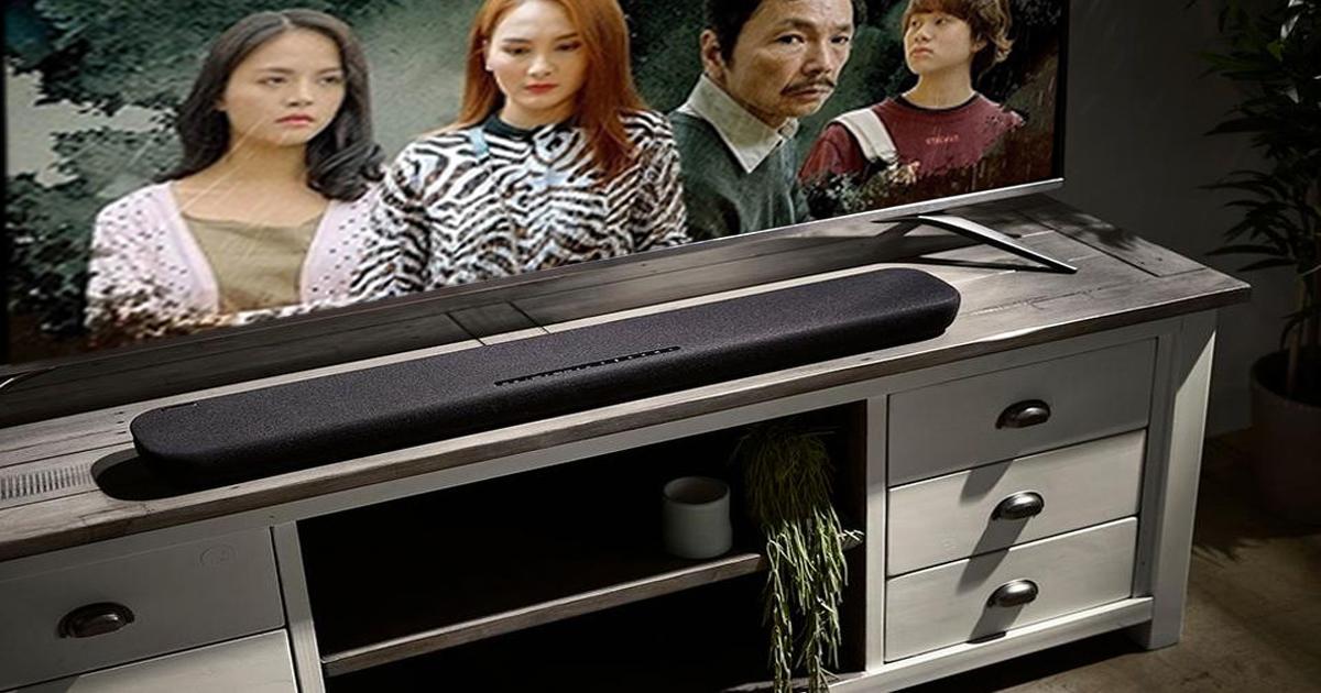 Loa soundbar Yamaha cho tivi tích hợp công nghệ không dây hiện đại