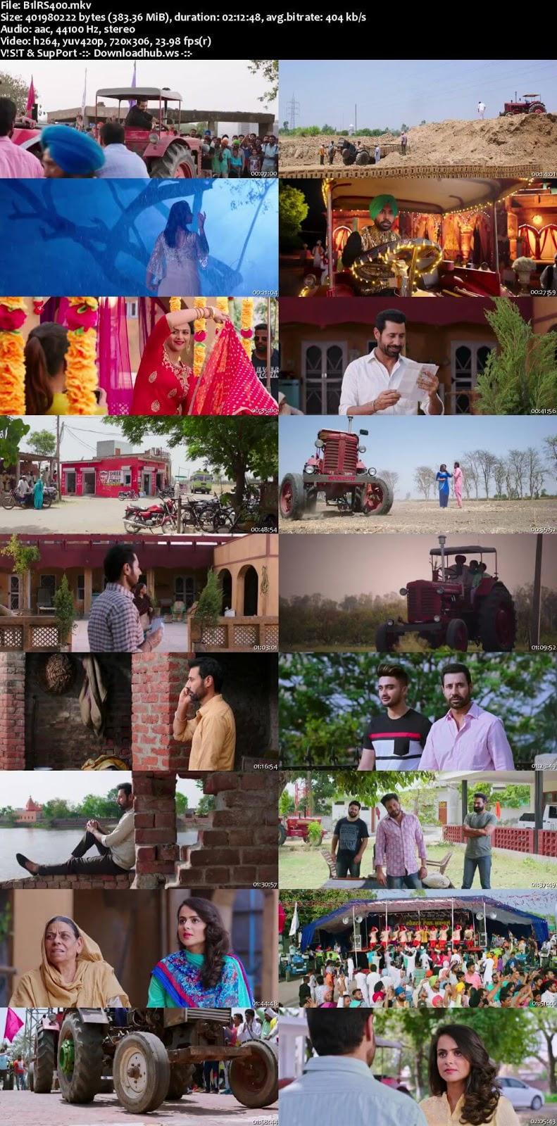 Bailaras 2017 Punjabi 480p HDRip