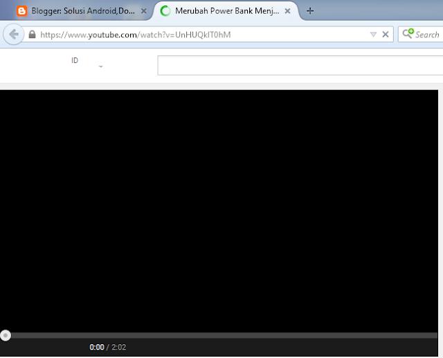 Cara Memasukkan Video Dari Youtube Di Blog