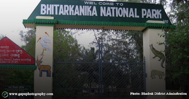 Entry Point to Bhitarakanika