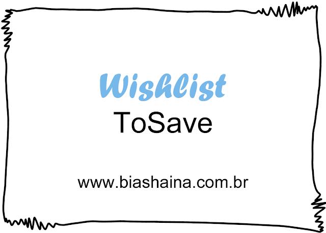 Wishlist da Loja ToSave