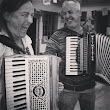 Meg and I playing accordion when I last taught at Fenland