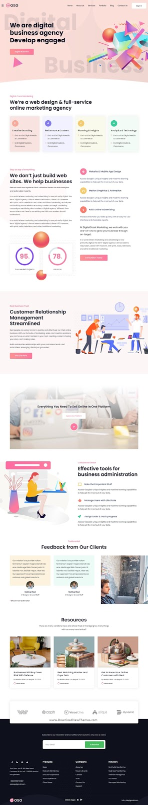 Best Creative Agency Website Template