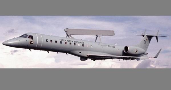 Embraer ERJ-145 AEW&C Aeronave de Vigilância Aérea Antecipada